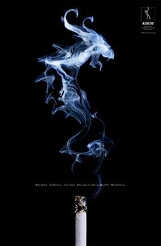 Graphic Design and Web Design Network - Smoke Art in Design #design #graphic