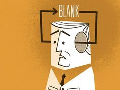 Blank #illustration #mid #century