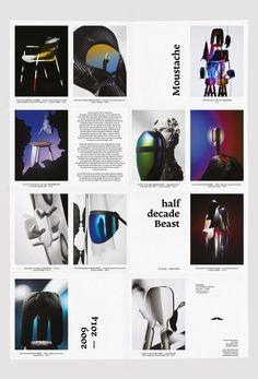 Half decade Beast © Moustache Paris 2014 Graphic Design © Les Graphiquants 2014 Photography © Charles Negre 2014 #bgg