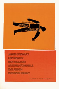 Saul Bass Posters, 1959.