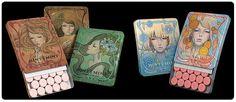 . audrey kawasaki .: . Hint Mint . #audrey #kawasaki #mint