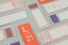 Good design makes me happy: Project Love: Lucky 21 #branding
