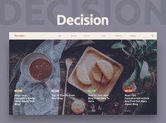 Decision Landing Page Template