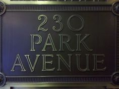 45th and Park Ave. #nyc #type #address
