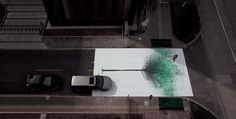 green pedestrian crossing by jody xiong of DDB china #marketing