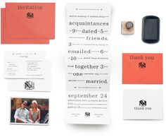 Wedding : Nathan Hinz #minimal #typography