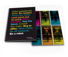 NO RULES NOTEBOOKS #design