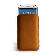 Mujjo Samsung Galaxy S3 Sleeve - Brown Leather Edition #sleeve #s3 #brown #leather #galaxy #mujjo