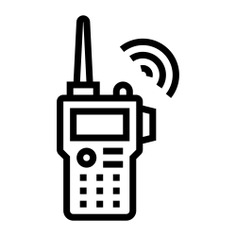 See more icon inspiration related to radio, frequency, walkie talkie, electronics, communications, security and technology on Flaticon.