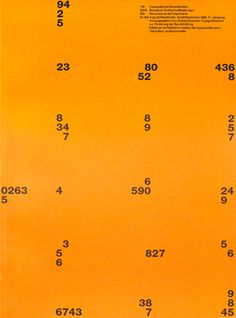 #poster #type #orange