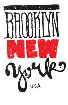 Typeverything.com - Brooklyn New York by... - Typeverything #type #brooklyn