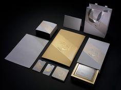 Nike, Identity, upscale, collateral, letterhead, branding, black, gold