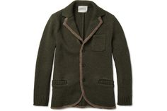 Undercover Lightweight Knitted Wool Jacket 01 #fashion #mens #jacket