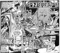 frog2000: Kevin O´Neill en Comics Journal (1 de 3) #comic #skull