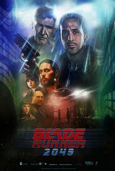 Blade Runner 2049 - Illustrated One Sheet by Paul Shipper