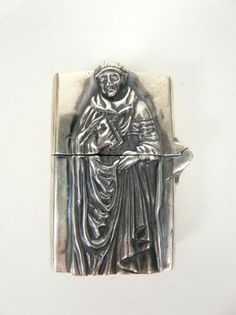 GOOD ART HLYWD :: ZIPPO - $2,425.00 : Glory Sales & Service, By Our Hand + By Our Name #smoke #silver #devil #saint #lighter
