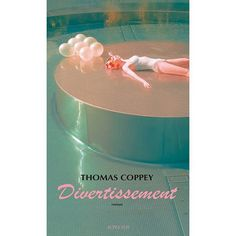 My photo as frontcover of the book Divertissement for Thomas Coppey 💙🙏 #frontcover #book #roman #photographer #andreakoporova