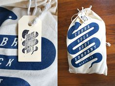 Miss Moss : Cobra Rock Boot Company #packaging #screenprint #stamp #boots #shoe #bag #tag #cobra