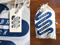 Miss Moss : Cobra Rock Boot Company #stamp #packaging #screenprint #shoe #tag #bag #boots #cobra