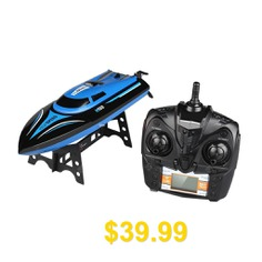 H100 #RC #Boat #With #Two #Batteries