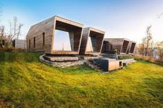 Malangen Family Cabin Retreat in Norway by Stinessen Arkitektur