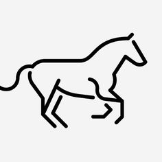 Horse! #sign #icons #picto #symbol #pictograms