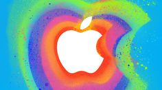Apple Apple Events Apple Special Event October 2012 #apple #event #release #illustration #jizz #rainbow #psychedelic