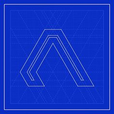 AIR by 2otsu - More at: http://bit.ly/NMcpm1 #typodesign #modern #air #2otsu #blue #typography