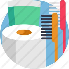 See more icon inspiration related to teeth cleaning, Tooth Brush, hygienic, tooth paste, wellness, hygiene and brush on Flaticon.