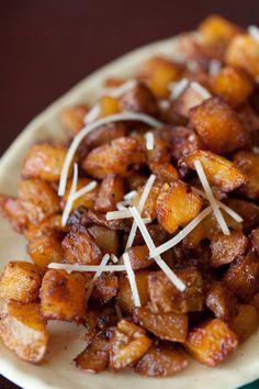 Parmesan Roasted Potatoes #potato