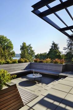terrace, Seattle, Washington...a Mid-Century House Renovation
