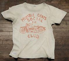 humble gents social club tee by AVTOMOBILE on Etsy #cal #automobile #1956 #humble #vintage #tee #gents #moto #so #club
