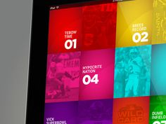 NBC Sports Network BEADLE MANIA TV Show #ipd #ux #interface #ui #app #sports #sport #web