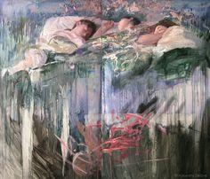 Painting by Alejandro DeCinti   Image courtesy of Alejandro DeCinti #alejandro #figure #decinti #painting #oil