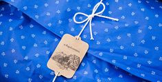 Packaging by Moodley | LLGD.net #print #packaging #blue #pattern #paper #tag