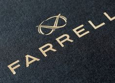 Farrell – Autumn/Winter 2012 Lookbook - Tom Hingston Studio #logo #print #identity