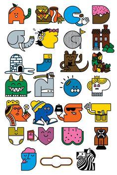 4_MikeDavis #illustration #abc #typography