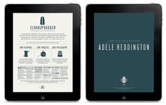 Google Reader (223) #hunter #ipad #head #website #identity #vintage