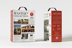 Master's Collection www.olssonbarbieri.com #wine #package #boxed