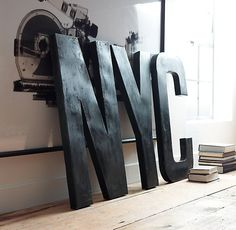 1930s French Shop Metal Letters #tech #flow #gadget #gift #ideas #cool