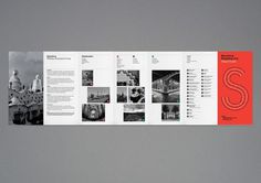 Barcelona - Shopping Line by Pedro Lopes #brochure #layout #barcelona