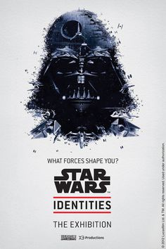 Star Wars Identities – The Exhibition #exhibition #collage #star wars #darth vader
