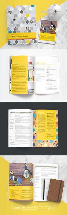 Design by Shanti Sparrow Client: UNSW Project Name: Program Brochure  #Design #graphicdesign#layout #magazine #typography #branding #graph