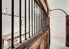Manor House Stables AR Design Studio #interior #wood #jail #reclaimed