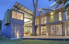 Shipping container house Incubo by Maria Jose Trejos - HomeWorldDesign (15) #inspiration #eco-friendly #house #container #design #architecture