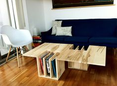 One-Two collection by Endri Hoxha - www.homeworlddesign. com (14) #wood #furniture #table