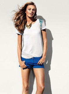 Frida Gustavsson for H&M June 2013 Summer #fashion #model #photography #girl