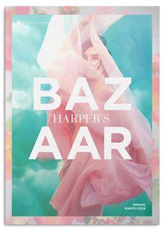 """编辑设计""""Harper's Bazaar Redesign"""""""