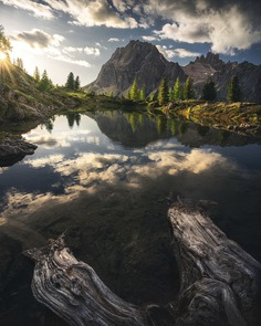 Majestic Landscapes of The Dolomite Mountains by Lukas Watschinger