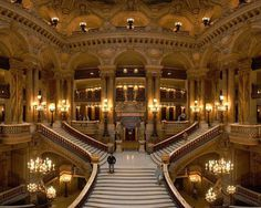"CJWHO â""¢ (Palais Garnier (Paris Opera) The Paris Opera, or...) #paris #history #garnier #design #interiors #photography #architecture #french #palais"